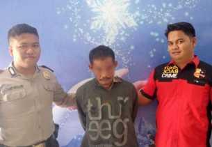Hamili Anak Tiri di Kampar, Pria Bejat Ini Ditangkap di Sumut