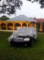 Mobil Dinas RSUD Bengkalis Terlantar