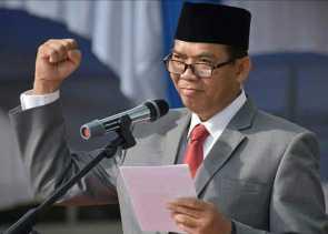 Firdaus Silaturahmi di Inhil, Rusli Hadiri Rapat Pleno KPU