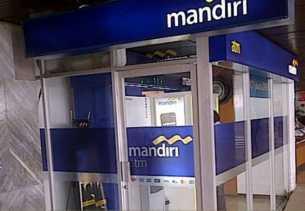 Gangguan satelit Telkom, 2.000 ATM Bank Mandiri offline