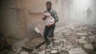Dunia Internasional Harus Hentikan Tragedi Kemanusiaan di Ghouta Timur