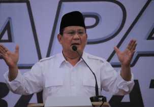 Sentil Politik Uang, Prabowo: Terima Saja, Pilih Sesuai Hati Nurani