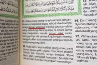 Heboh... Tafsir Al Maidah Ayat 51 Berubah