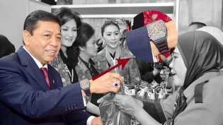 Merasa Jadi Rakyat Biasa, Novanto Tak Lagi Kenakan Jam Tangan Mewah
