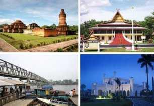 Masa Liburan, Masyarakat Kuansing Kunjungi Tempat Wisata di Riau