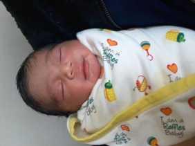 Cucu Kedua Gubri Lahir, Namanya Garsyad Arafat Giovandi