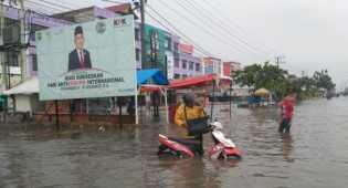 Penuntasan Banjir di Pekanbaru Butuh Waktu, Pj Wako: Biar Walikota Terpilih yang Menyelesaikannya