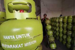 Gas 3 Kg Subsidi di Panam Pekanbaru Langka