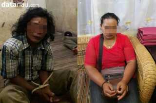 Cabuli Gadis Dibawah Umur Sejak SD, Suami Istri di Tambang Kampar Diringkus Polisi