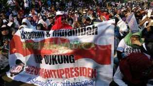Massa Tumpah Ruah Deklarasikan #2019GantiPresiden