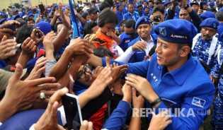 AHY Bisa Dampingi Jokowi atau Prabowo, Ini Respons Demokrat