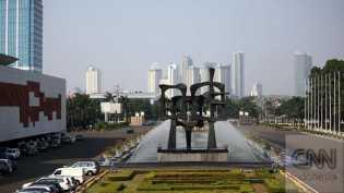Kebakaran di Gedung DPR, Lima Damkar Dikerahkan