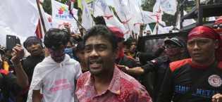 Deklarasi Capres Pro-Buruh, KSPI Kerahkan 150 Ribu Demonstran