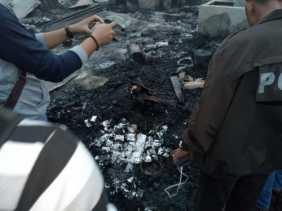 Sadis! MH Biarkan Istri dan Dua Anaknya Terbakar Dalam Toko, Pembantu Ikut Jadi Korban