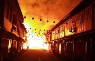 Ini Sumber Api yang Melahap Puluhan Bangunan di 'Cina Town' Siak
