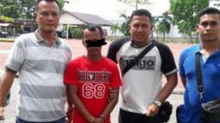 Lari ke Tanjung Pinang, Tersangka Kasus Pemerkosaan di Ringkus Polsek Tambang