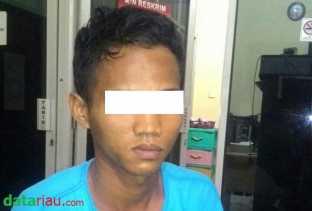 Ketahuan Cabuli Pacarnya yang Masih SMP, Remaja di Tapung Kampar Ini Ditangkap Polisi