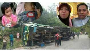 Terungkap, Ini Penyebab Kecelakaan Maut yang Tewaskan Satu Keluarga di Kuok Kampar