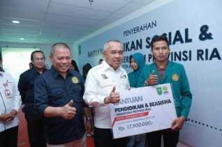 Bansos Pendidikan Pemprov Riau dalam Proses Pencairan