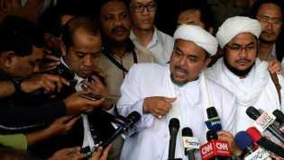 Alumni 212 Minta Rizieq Shihab Tak Ditangkap saat Pulang