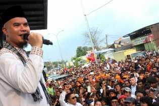 'Quick Count' Pilkada Bekasi, Ahmad Dhani Menang