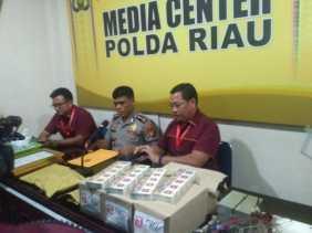 Ini Barang-barang yang Disita Polda Riau dari Penggerebekan E-Zone