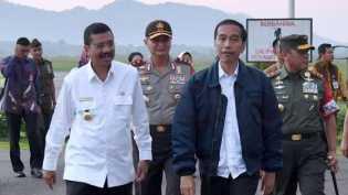 Tugu Titik Nol Islam Nusantara di Sibolga Diresmikan Jokowi