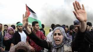 Perbatasan Gaza-Israel: 'Bentrokan akibatkan 16 warga Palestina tewas dan ratusan terluka'
