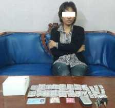 Jual Pil Extacy, Wanita di Duri Ini Diringkus Polisi