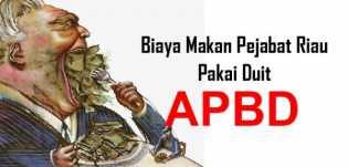 Waw, Anggaran Konsumsi Pemprov Riau Rp174 Miliar Setahun