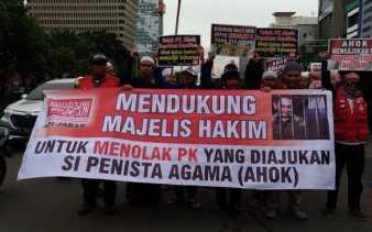 Alumni 212 Jamin Aksi Damai di Arena Sidang PK Ahok