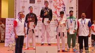 Luar Biasa, Atlet Taekwondo Riau Ini Raih Emas World Taekwondo Malaysia Open G1 2018