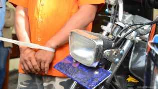 1 dari 2 Pencuri Motor Pegawai RSJ Tampan Pekanbaru Ditangkap