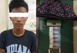 Usai Jambret Dokter, Begal Jalanan Dibekuk Saat Keluar Dari Semak-semak