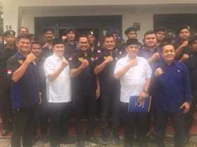 Garda Pemuda Nasdem Siap Menangkan Syamsuar-Edy