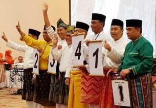 Maju Pilgub Riau, Firdaus Kembali Mendapatkan Nomor Kemenangan Tahun 2017