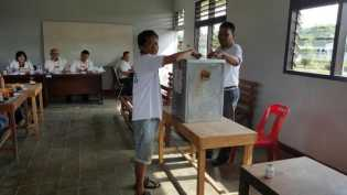 145 Warga Binaan Gunakan Hak Suara di Pekanbaru