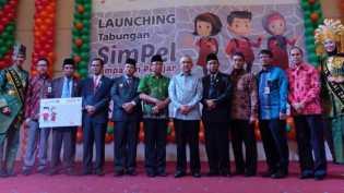 Launching Tabungan SimPel Bank Riau Kepri