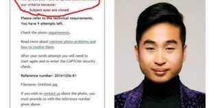 Karena Bermata Sipit, Paspor Pria Ini Ditolak