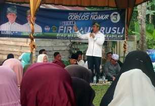 Kampanye Dialogis di Kuansing, Ini Aspirasi Warga ke Rusli Effendi