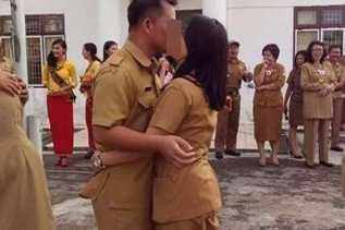 Memalukan! ASN di Nias Ciuman Massal