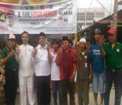 Pasangan Calon Walikota Pekanbaru Nomor Urut 4 Kampanye di Sukajadi