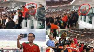 Persija Menang, Anis Dilarang Dampingi Jokowi Serahkan Piala