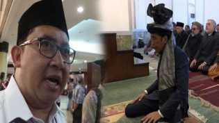Jokowi Jadi Imam Salat di Afghanistan, Fadli Zon: Itu Pencitraan yang Bagus Lah