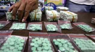 Polresta Pekanbaru Amankan Narkoba Rp90 juta Beserta Bandar di Marpoyan Damai