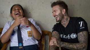Siapa Sripun, anak yang mengambil alih Instagram David Beckham?