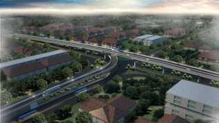 Pemprov Riau Optimis Pembangunan Flyover SKA Rampung Di 2018