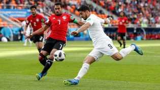 Timnas Uruguay Menang Dramatis Lawan Mesir di Piala Dunia 2018