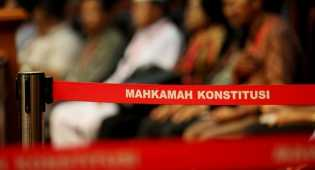 MK gelar sidang perdana uji materi cuti gubernur yang diajukan Ahok