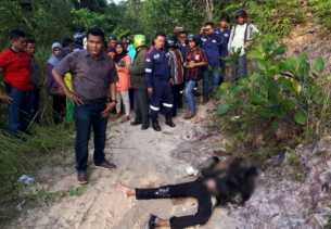 Polisi Telusuri Identitas Wanita Hangus Terbakar